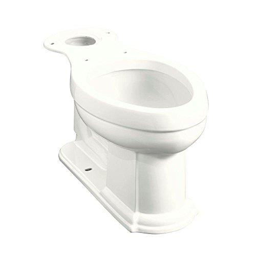 Kohler K-4397-0 Devonshire Comfort Height Elongated Bowl, (Devonshire Toilet)