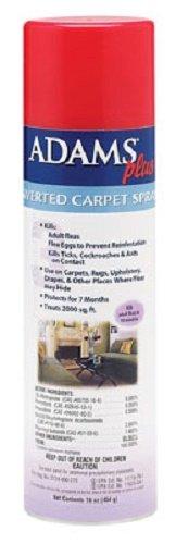 Farnam 16 Oz Adams Plus Inverted Carpet Spray to Kill Fleas Within 10 Minutes Where Sprayed