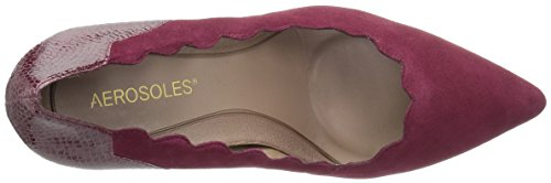 Aerosoles Women's Taxi Ride Pump Wine Suede sast sale online kVX0UIp