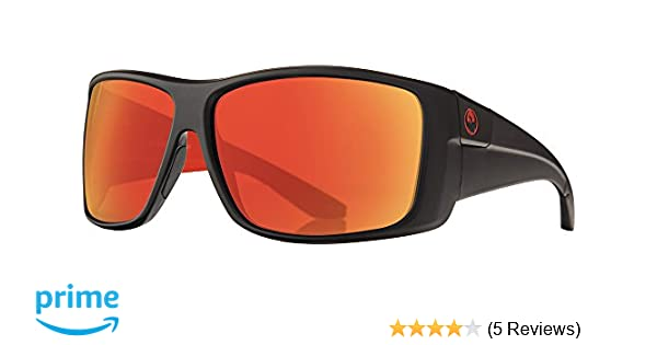 f43c71a8c0 Amazon.com  DRAGON KIT SUNGLASSES JET W RED ION POLAR LENS  Sports    Outdoors