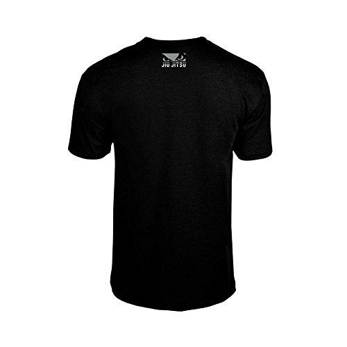 Bad Boy Herren Jiu Jitsu Discipline T-Shirt, Schwarz, Large