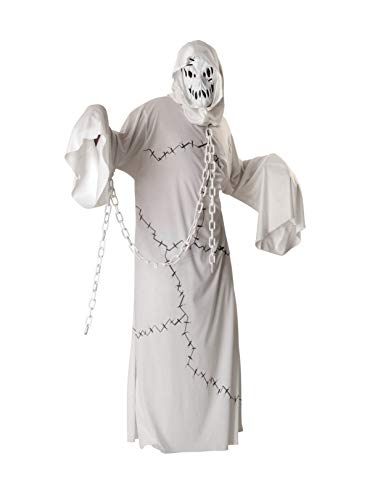 Scary Ghost Costumes - Rubie's Costume Ghoul Costume, White,