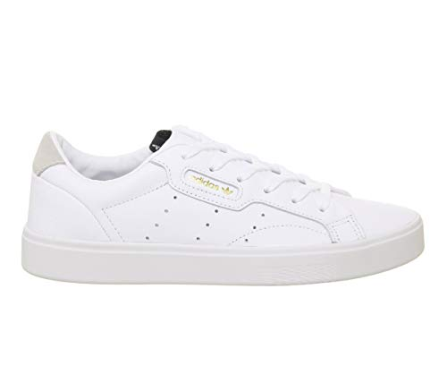 footwear Femme White Adidas footwear Weiß Baskets crystal Sleek White 0 White nHBxwqUaF