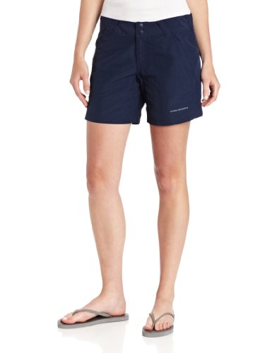 (Columbia Women's Coral Point II Short, UV Sun Protection, Moisture Wicking Fabric, Collegiate Navy, X-Large x 6
