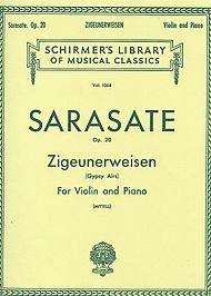 - G. Schirmer Zigeunerweisen Op 20 Violin / Piano Gypsy Airs By Sarasate