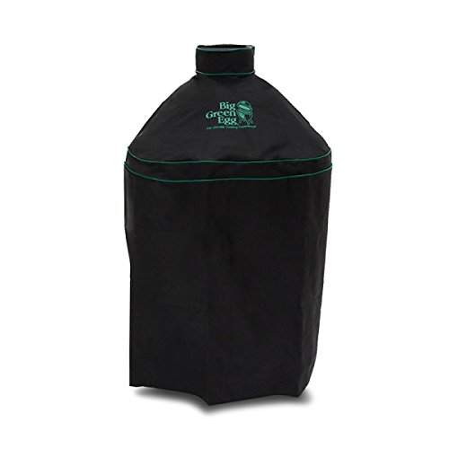Big Green Egg BLACK Premium Cover w/ Handle for Large Egg -  2BGE-BLVC