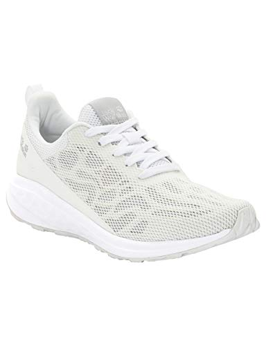 Jack Wolfskin Women's Coogee CHILL Low Women's Casual Sneakers Shoe, White Rush, US Women's 8.5 D US