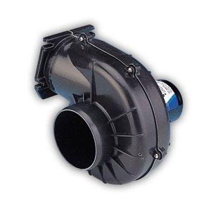 Jabsco 35400-0000 4 inch Blower, 250 CFM, Flangemount, 12 Volt DC - Jabsco Flange Mount Blower
