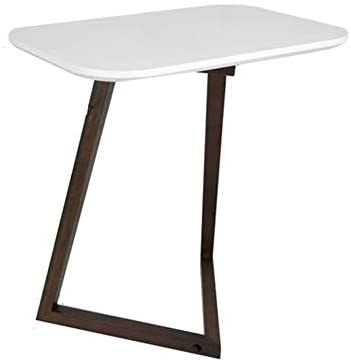 mesa plegable XUERUI Mesas Bambú Natural Mesita De Noche Junto A ...