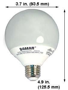 Compact Fluorescent Lights EG15-16W/G30/27K Warm White (Case of 5)