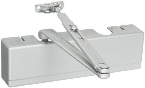 Sargent 351 Series Sprayed Aluminum Enamel Heavy Duty Adjustable Through Bolt Door Closer with Standard Arm, 1-1/2'' Piston Diameter (Pack of 1) by Sargent
