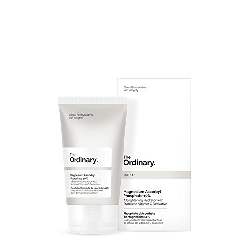 Magnesium Ascorbyl Phosphate 10% by The Ordinary (30ml) A Brightening Hydrator with Stabilized Vitamin C Derivative