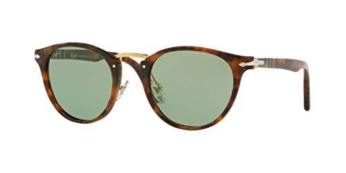 Persol PO3108S Sunglasses-(108/52) Caffe/Green-49mm