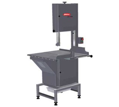 Skyfood Heavy Duty Meat And Bone Saw 124'' Blade 3 Hp 220/60/3-Phase - All In Stainless Steel