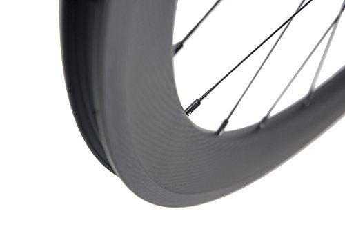 Superteam Carbon Fiber Clincher Road Bike Wheelset 700C25 Matt Finish 1 Pair by Queen Bike (Image #7)