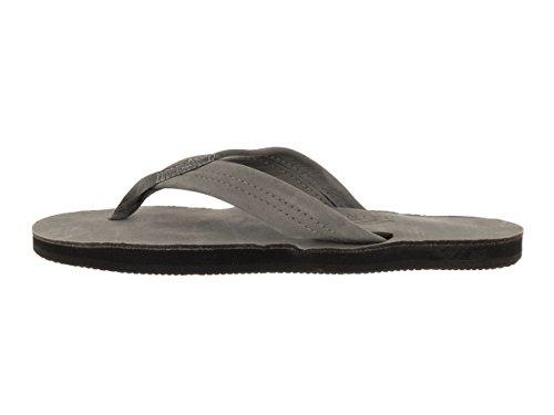 Sandales Arc-en-ciel Féminin Unique Couche Premier Sandale Gris