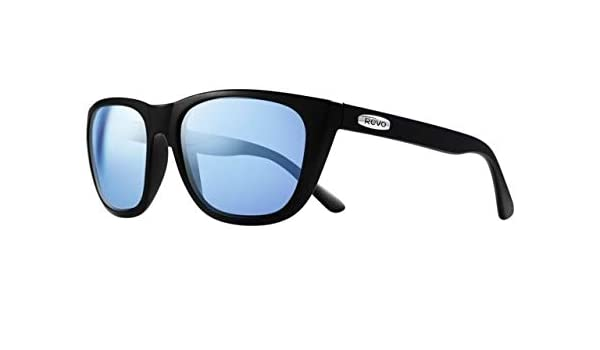 118298af8a2a Amazon.com  Revo Unisex RE 4052 Grand Sixties Wayfarer Crystal Lenses Polarized  Sunglasses