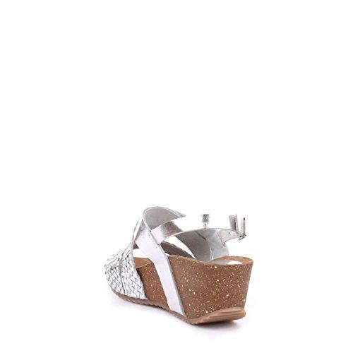 Docksteps Women's Fashion Sandals Silver FNRBjuFp