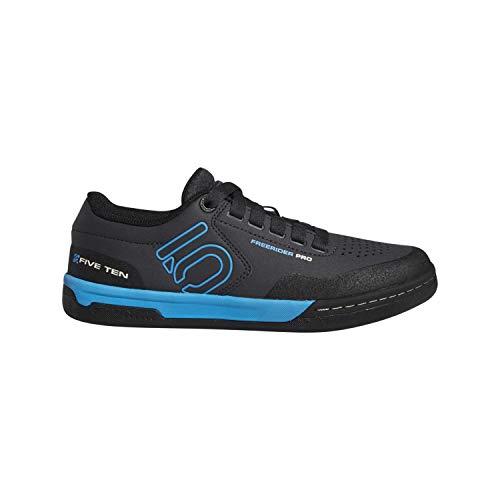 Five Ten Freerider Pro Womens Mountain Bike Shoes, Carbon/Shock Cyan/Black, 10.5