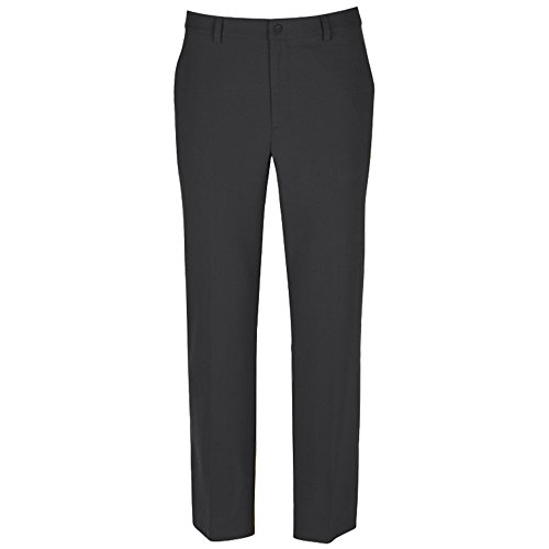Greg Norman Mens Ml75 Micro Lux Flat Front Pants Black 30 38