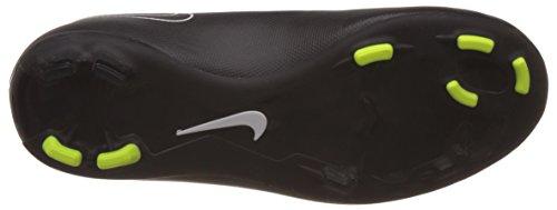 Nike Mercurial Victory V Fg Unisex-Kinder Fußballschuhe Schwarz / Weiß (Schwarz / Schwarz-Weiß-Hyper Schlags)