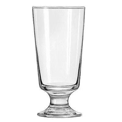 Large Footed Glasses - Libbey Embassy Footed 10 oz Hi-Ball Glass