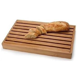 Danesco 3020215 Bamboo Bread Cutting Board with Crumb Catcher, 15 by 9-Inch (B0053UM3O8) | Amazon price tracker / tracking, Amazon price history charts, Amazon price watches, Amazon price drop alerts