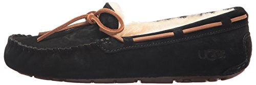UGG Women's Dakota Moccasin, BLACK, 9 B US by UGG (Image #5)