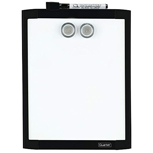 - Quartet Magnetic Whiteboard, 8-1/2