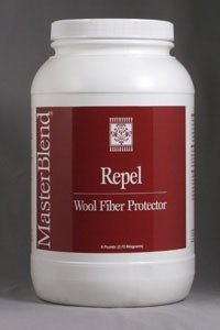 MasterBlend - Repel - Oriental Rug and Wool Fiber Protector -Powder Concentrate - 6lbs Tub - 130506