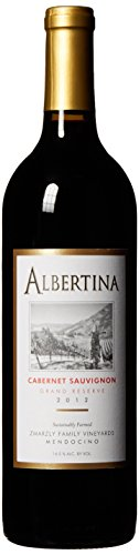 2012 Albertina Cabernet Sauvignon Gold Medal Winner Grand Reserve 750 mL Wine