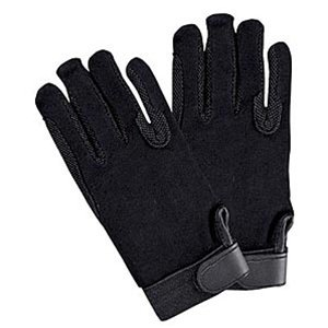 SSG Velcro Wrist Gripper Gloves 7 Black