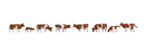Faller 155507 - Vacas con manchas marrones [importado de Alemania] fal155507