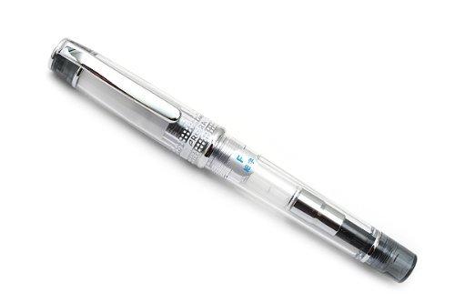 Pilot Prera Iro-Ai Fine-Nib Transparent Black Body Fountain Pen (FPRN-350R-TBF)