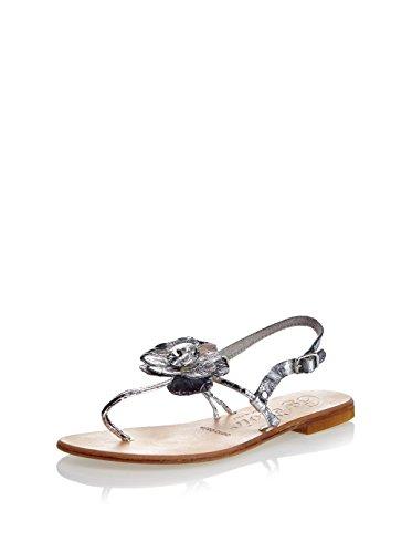 cafenoir fs901 sandali bassi cuoio nero