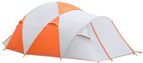 Exio Gear EXIO 8-Person Compact Backcountry Tent, 20D Breathable Ripstop Nylon Tent and Rainfly With PU2000 Silicone Coating, Aluminum Poles, Footprint Included
