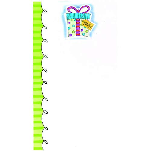 Party Present Imprintable Invitations | Party Supply | 48 Ct ()