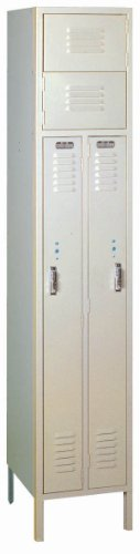 Lyon PP5407 2 Person Steel Locker with 1 Frame, 15