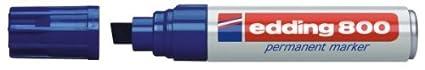 Amarillo 4-12 mm 1 unidad Edding E-800/- Rotulador permanente punta biselada