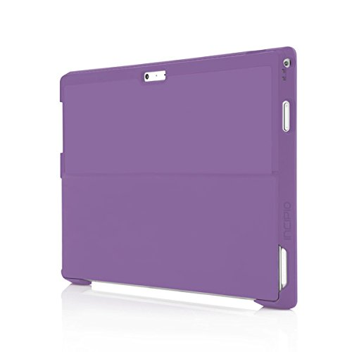 the best attitude a53e0 b279c Microsoft Surface Pro 3 Case, Incipio [Ultra Thin] [Snap On Case] feather  [Advanced] Case for Microsoft Surface Pro 3-Dark Purple