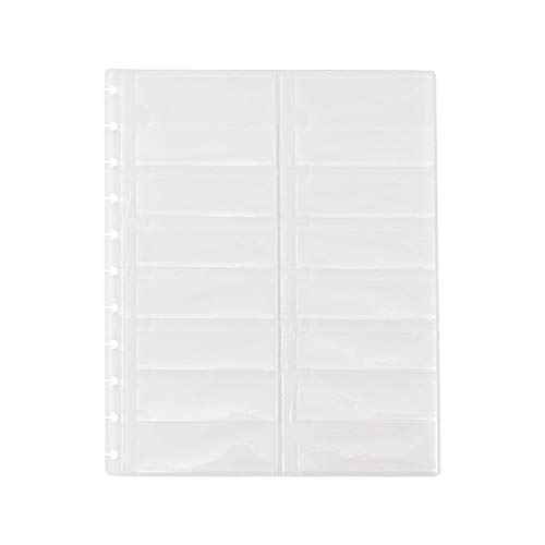 Staples Business Cards - Staples Arc System Business Card Holders, Clear, 8-1/2