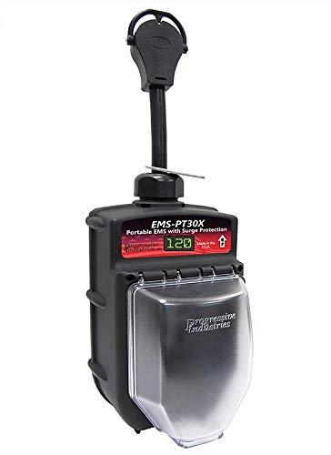 Low Voltage Accessory - Portable RV Surge Protector Portable EMS-PT30X RV Surge Protector