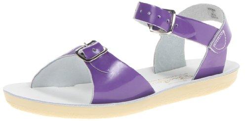 Salt Water Sandals by HOY Shoe Surfer Sandal (Infant/Toddler/Little Kid),Purple,6 M US Toddler