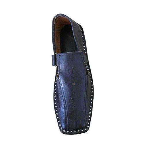 high-quality kalra Creations Veste en cuir traditionnel Indien mariage  sandales