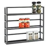 3-Shelf Iron Spice Rack