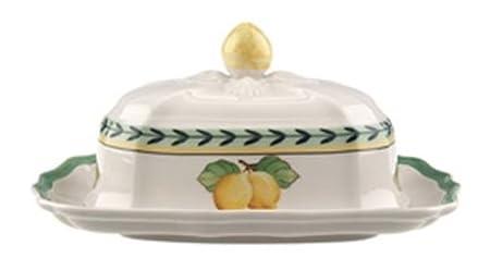 Villeroy U0026 Boch French Garden Fleurence Butter Dish Top
