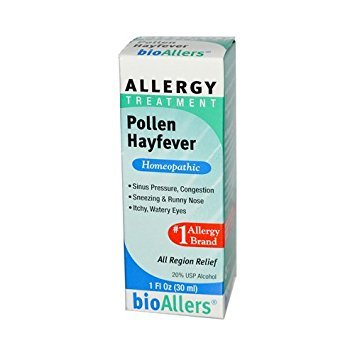 BioAllers Allergy Treatment Pollen Hayfever Remedies - 1 oz.