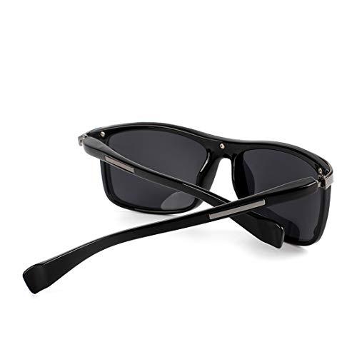 De Sol Lens Moda Los Black Retro Sol Gafas Frame Gafas Metal Costura Marco TLMY Sol Tea Hombres Frame Color Lens Clear Gray De Tea De de Gafas De T5pwq