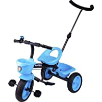 KAYOKSH Tricycle with Basket for Kids (Green Colour)