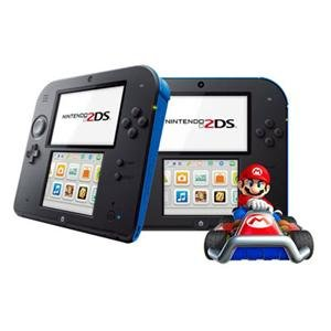Price comparison product image Nintendo FTRSBM11 Nintendo 2DS Elec Blue w Mario
